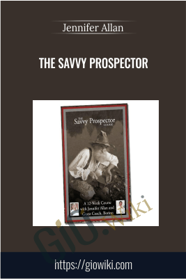 The Savvy Prospector – Jennifer Allan