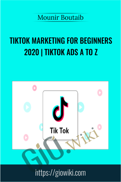 TikTok Marketing for Beginners 2020 | TikTok Ads A to Z - Mounir Boutaib
