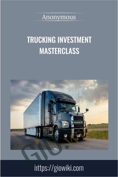 Trucking Investment Masterclass