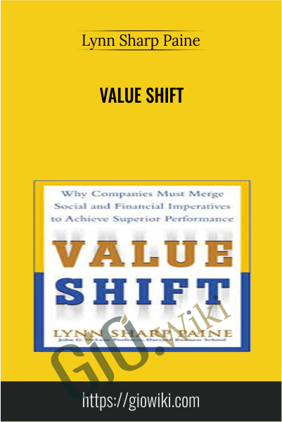 Value Shift - Lynn Sharp Paine