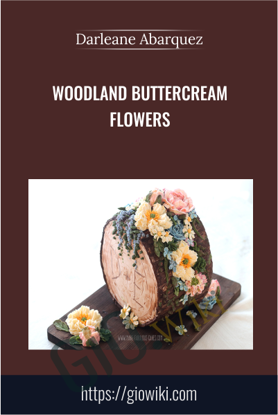 Woodland Buttercream Flowers - Darlene Abarquez