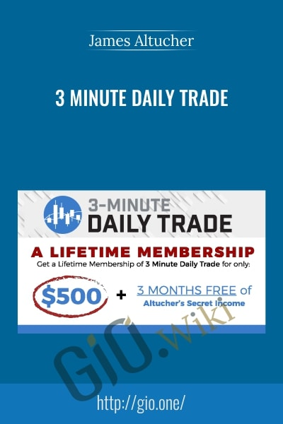 3 Minute Daily Trade - James Altucher