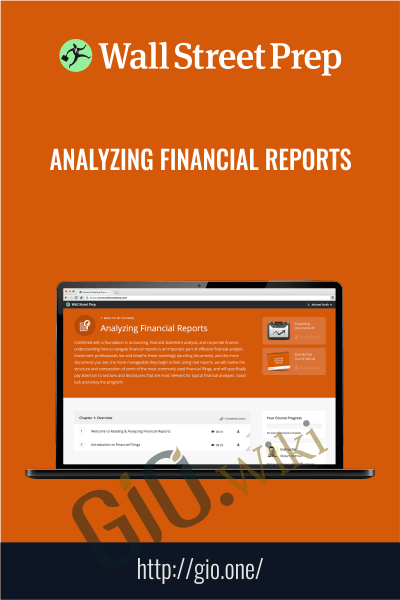 Analyzing Financial Reports - Wall Street Prep