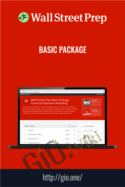 Basic Package - Wall Street Prep