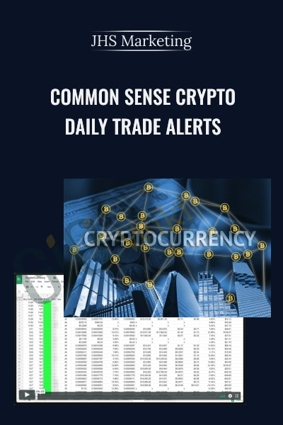 Common Sense Crypto – Daily Trade Alert