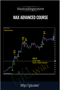 MAX Advanced Course – Maxtradingsystem