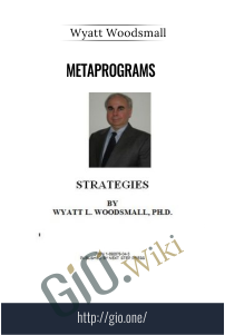 Metaprograms – Wyatt Woodsmall