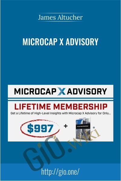 Microcap X Advisory - James Altucher