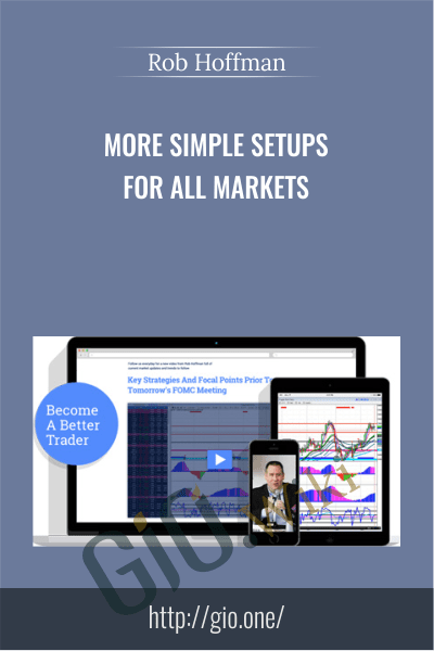 More Simple Setups For All Markets – Rob Hoffman