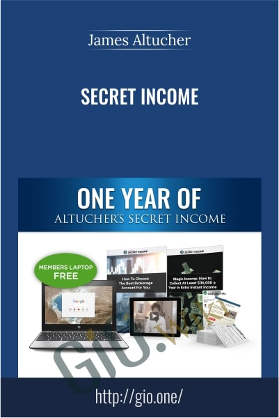 Secret Income - James Altucher