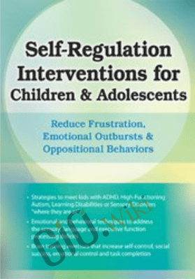 Self-Regulation Interventions for Children & Adolescents: Reduce Frustration, Emotional Outbursts & Oppositional Behaviors - Laura Ehlert