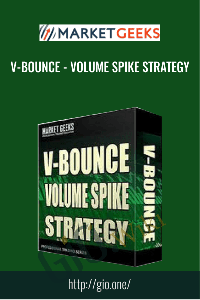 V-Bounce Volume Spike Strategy - Market Geeks