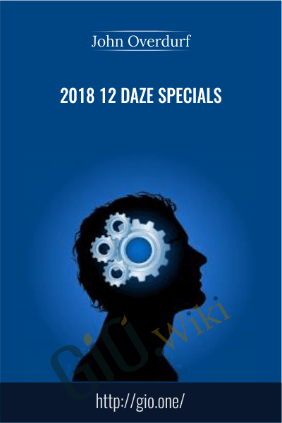 2018 12 Daze Bundle - John Overdurf