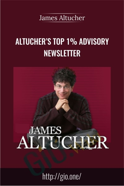Altucher's Top 1% Advisory Newsletter - James Altucher