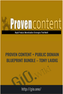 Proven Content + Public Domain Blueprint Bundle – Tony Laidig