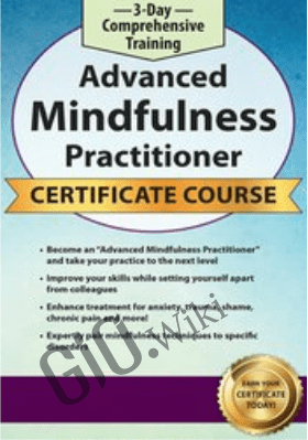 3-Day Comprehensive Training: Advanced Mindfulness Practitioner Certificate Course - Rochelle Calvert