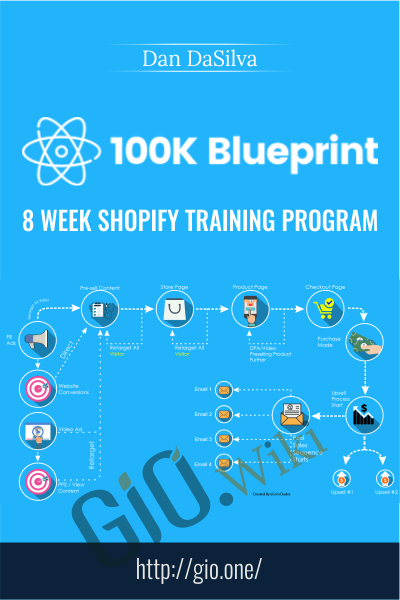 $100K Blueprint : 8 Week Shopify Training Program – Dan DaSilva