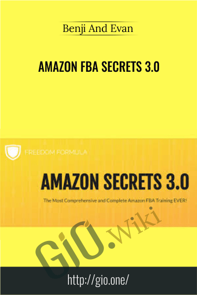 Amazon FBA Secrets 3.0 - Benji And Evan