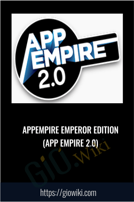 AppEmpire Emperor Edition (App Empire 2.0)