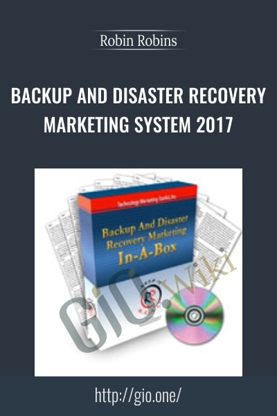 Backup And Disaster Recovery Marketing System 2017