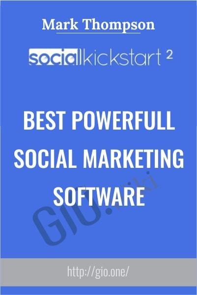 Best Powerfull Social Marketing Software - Social Kickstart v.2