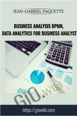 Business Analysis BPMN, Data Analytics For Business Analyst -  Jean-Gabriel Paquette