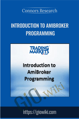 Introduction to AmiBroker Programming - Connors Research