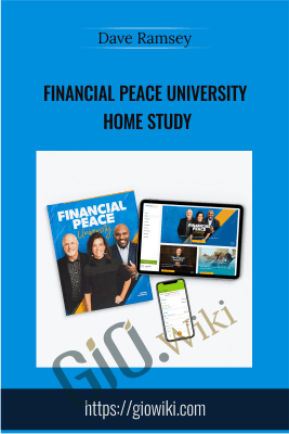 Financial Peace University Home Study - Dave Ramsey
