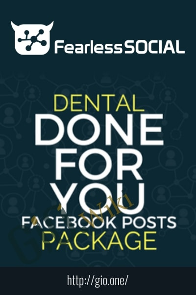 Dental DFY Social Posts - Fearless Social