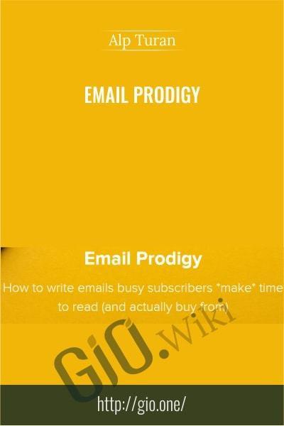 Email Prodigy - Alp Turan
