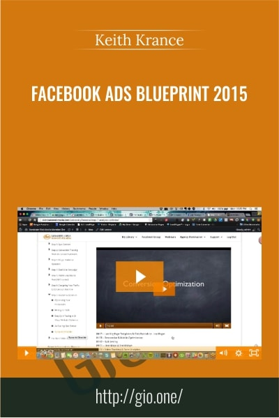 Facebook Ads Blueprint 2015 - Keith Krance