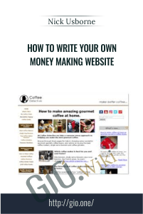 How to Write Your Own Money Making Website