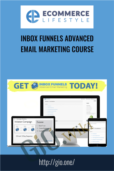 Inbox Funnels Advanced Email Marketing Course - eCommerce Lifestyle