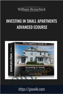 Investing In Small Apartments Advanced eCourse
