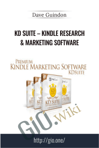 KD Suite – Kindle Research & Marketing Software - Dave Guindon