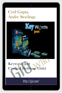 Keywords Jeet Cracked (Software Only) - Cyril Gupta, Andre Stoelinga