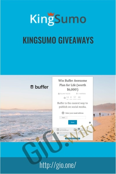 KingSumo Giveaways -  KingSumo