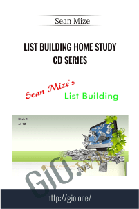 List Building Home Study CD Series – Sean Mize