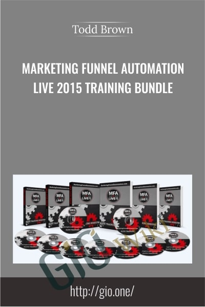 Marketing Funnel Automation Live 2015 Training Bundle