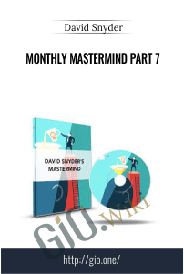 Monthly MasterMind Part 7 – David Snyder