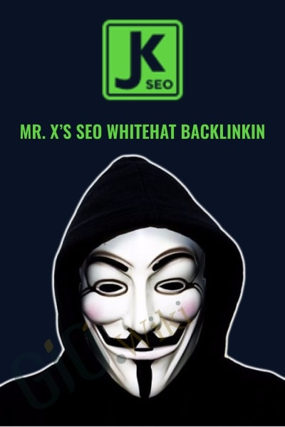 Mr. X's SEO Whitehat Backlinkin
