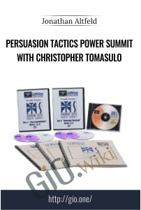 Persuasion Tactics Power Summit with Christopher Tomasulo – Jonathan Altfeld