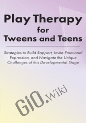 Play Therapy for Tweens and Teens: Strategies to Build Rapport, Invite Emotional Expression, and Navigate the Unique Challenges of this Developmental Stage - Jennifer Lefebre