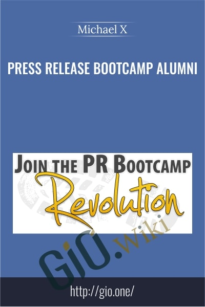 Press Release Bootcamp Alumni - Michael X