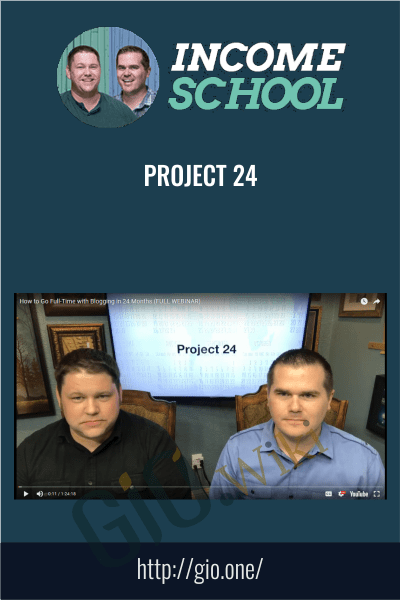 Project 24 - Income School