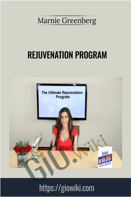 Rejuvenation Program - Marnie Greenberg