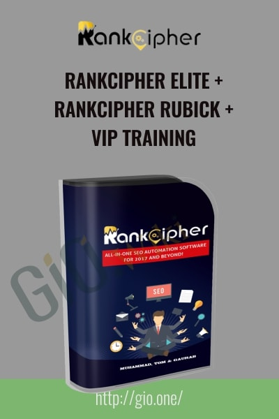RankCipher Elite and RankCipher Rubick and VIP Training