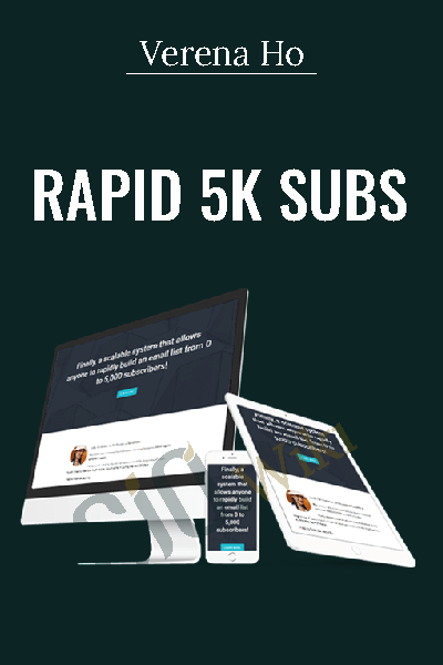 Buy video courses at gio up to 90 off rapid 5k subs verena ho fandeluxe Gallery