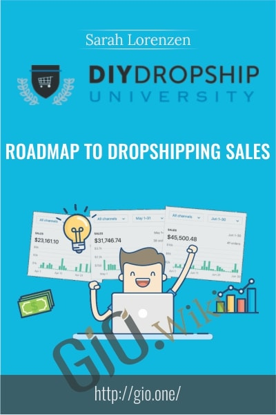 Roadmap To Dropshipping Sales - Sarah Lorenzen