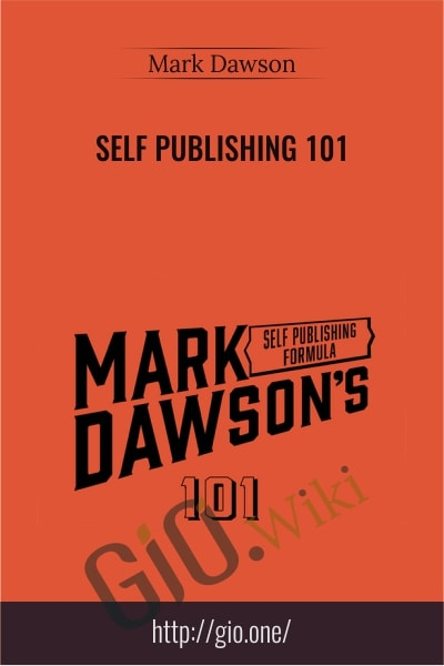 Self Publishing 101 - Mark Dawson